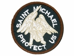 Lancer Tactical Saint Michael Protect Us Velcro Patch Type-C