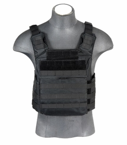 Lancer Tactical Speed Attack Plate Carrier, Black