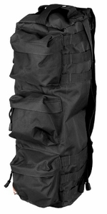 "Lancer Tactical Tactical Shoulder ""Go Pack"" Bag, Black"