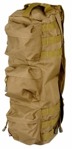 "Lancer Tactical Tactical Shoulder ""Go Pack"" Bag, Tan"