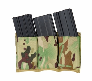 Lancer Tactical Triple M4 Magazine Pouch - Camo