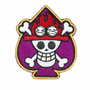 Lancer Tactical Velcro Skull Patch, Type-A