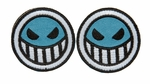 Lancer Tactical Velcro Skull Patch, Type-B