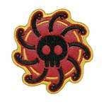 Lancer Tactical Velcro Skull Patch, Type-E