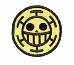 Lancer Tactical Velcro Skull Patch, Type-G