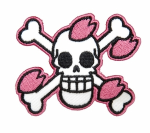 Lancer Tactical Velcro Skull Patch, Type-K