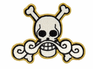 Lancer Tactical Velcro Skull Patch, Type-L