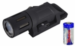 Lancer Tactical Weapon Mounted Light w/ Battery, Black