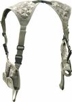 Leapers Deluxe Universal Horizontal Shoulder Holster (Army Digital Camo)