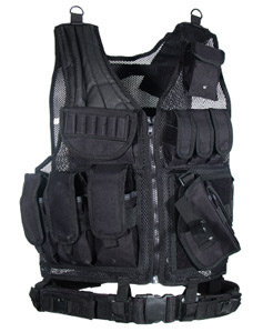 UTG Tactical Scenario Vest - Black