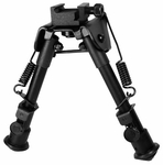 Leapers UTG Tactical OP Bipod, SWAT/Combat Profile, Telescoping & Folding Legs
