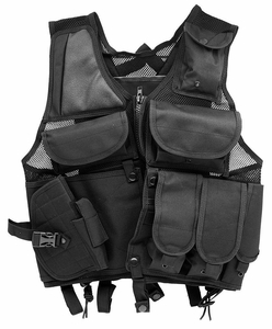 Lightweight Mesh Tactical Vest, Black