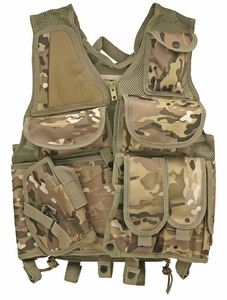 Lightweight Mesh Tactical Vest, Camo
