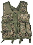 Lightweight Mesh Tactical Vest, MARPAT Digital Woodland
