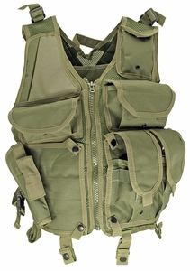 Lightweight Mesh Tactical Vest, OD Green