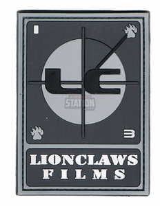 Lionclaws Films PVC Patch, Velcro Backed