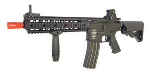 LMT Defender CQC Full Metal M4 AEG RIS Airsoft Gun, Proline by ASG