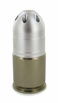 M203 40mm Green Gas Airsoft Grenade, 18 Rounds