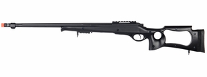 M70 SPR A4 Bolt Action Airsoft Sniper Rifle, Black, 500 FPS by UK Arms