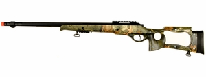 M70 SPR A4 Bolt Action Airsoft Sniper Rifle, Camo Stock, 500 FPS by UK Arms