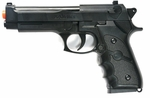 M9 Style Airsoft Spring Pistol - Black