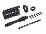 "Madbull Airsoft Daniel Defense 4"" Lite RIS Kit, Black"