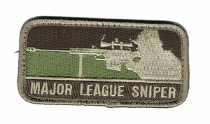 Major League Sniper Patch, Arid