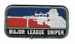Major League Sniper Patch, Full Color