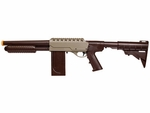 Marines Airsoft SS01 Slam Fire Airsoft Shotgun, Tan/Black