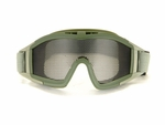 Mesh Airsoft Goggles, Green