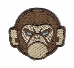 Mil-Spec Monkey Logo Patch, Arid