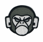Mil-Spec Monkey Logo Patch, SWAT