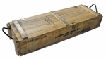 Military Surplus Ammo Crate, Wood w/ Rope Handles