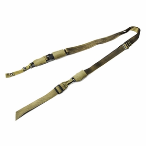 Mustang Tactical M16 Tactical Sling for Fixed Stock M16, OD Green