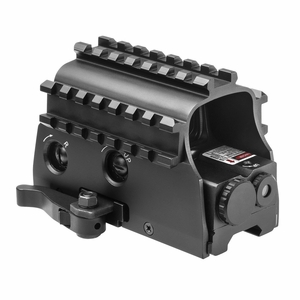 Nc Star 3 Armored Railed Reflex Green Dot Sight and Laser
