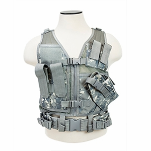 NC Star Children's Tactical Vest, Digital Camo
