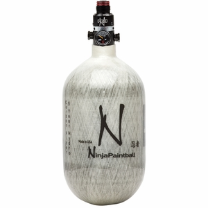 Ninja 68CI/4500PSI HPA Grey Ghost Carbon Fiber Tank for PolarStar