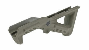 Plastic Angled Foregrip, OD Green
