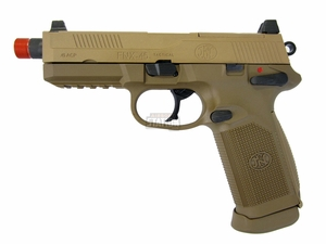 FN Herstal FNX-45 Tactical Metal Gas Blowback Airsoft Pistol