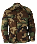 Propper BDU 4-Pocket Coat, 100% Cotton Ripstop, Woodland