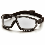 Pyramex V2G Airsoft Goggles, Clear Lens, Elastic Strap