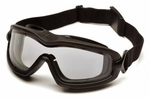Pyramex V2G Plus Full Seal Safety Goggles, Clear Lens