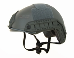 Raptors Airsoft RTV PJ Tactical Airsoft Helmet with Rails, Foliage Green