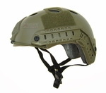 Raptors Airsoft RTV PJ Tactical Airsoft Helmet with Rails, Dark Earth Brown