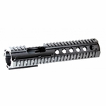Raptors Airsoft RTQ Aluminum 10.5'' Two Piece RIS Quad Rail Hand Guard Unit For M4 AEGs