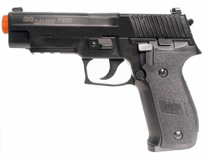 SIG Sauer P226 Full Metal Blow Back Green Gas Airsoft Pistol