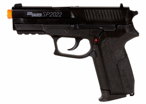 SIG Sauer SP2022 HPA Series Spring Airsoft Pistol by Cybergun