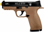 Smith & Wesson M&P 40 Spring Powered Airsoft Pistol, HPA Series, Dark Earth