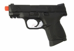 Smith & Wesson M&P 9C Metal Compact Green Gas Pistol by VFC, Full/Semi Auto