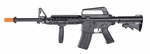 Smith & Wesson M&P15 Spring Powered Airsoft Rifle w/ Tactical Flashlight